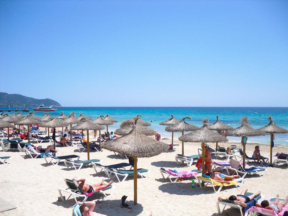 Strand Cala Millor Mallorca Backstage Mallorca Urlaub